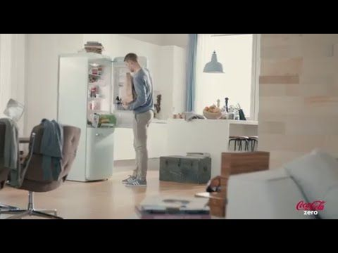 "Coke Zero Werbung 2014 – ""Manuel Neuer packt aus"" Manuel Neuer puts groceries in the fridge while being commentated on it. This is really funny if you know German."