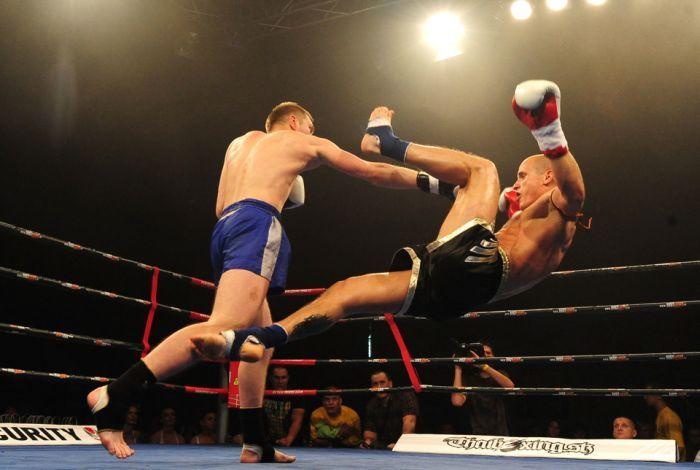 Muay Thai Boxing.