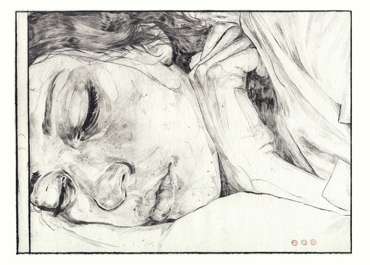 https://flic.kr/p/nygcVX | Sleeping Project | Drypoint Etching 2014