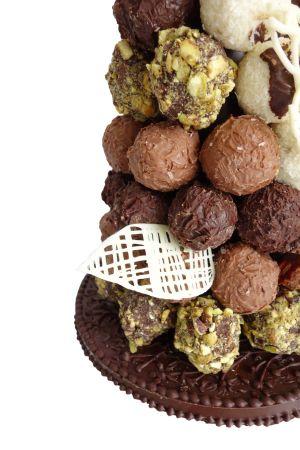 Chocolate Truffle Croquembouche Chocolate Garnish - Le Cordon Bleu