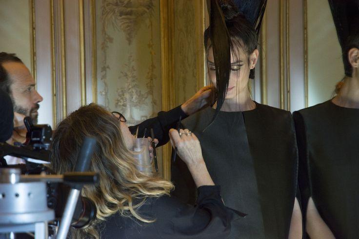 hair stylist: Pier Giuseppe Moroni - make-up artist: Arianna Campa - model: Mariana Braga
