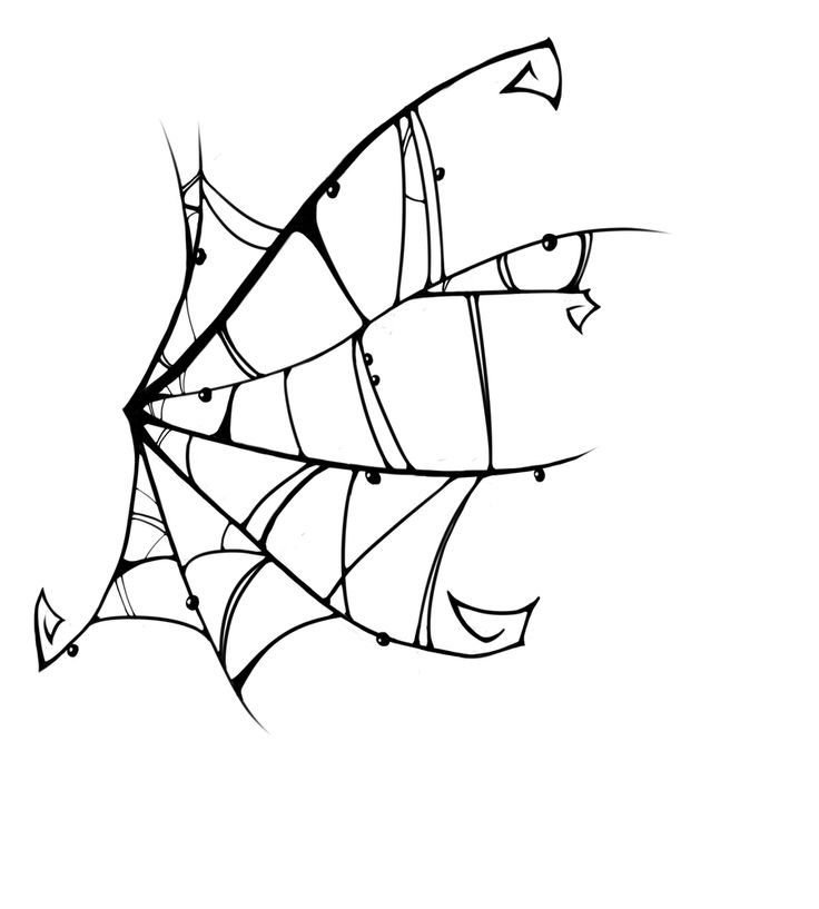 Tattoo Design: Spiderweb by darkabyssinian.deviantart.com on @deviantART