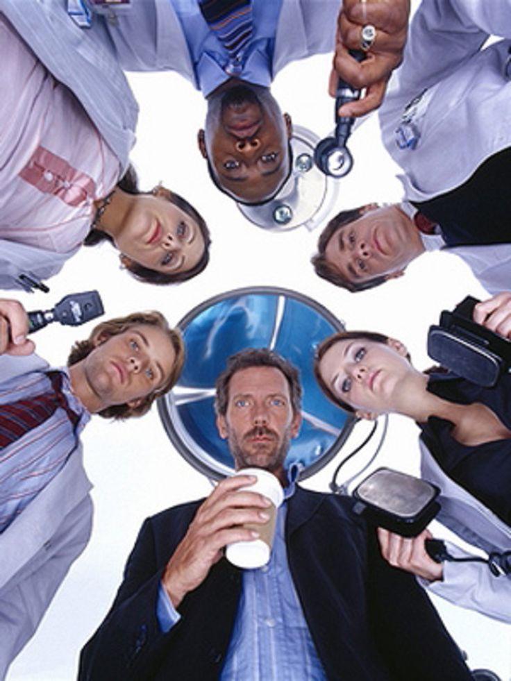 Melhor equipe de House (eu ainda n assisti a temporada q tem a outra equipe, irônico, não?)