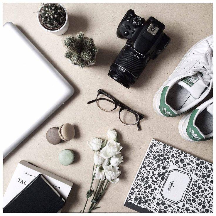 fashion, food, stan smith  layout & design