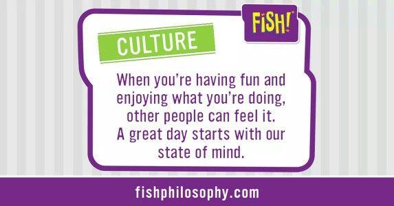 Culture - Fish philosophy                                                       …