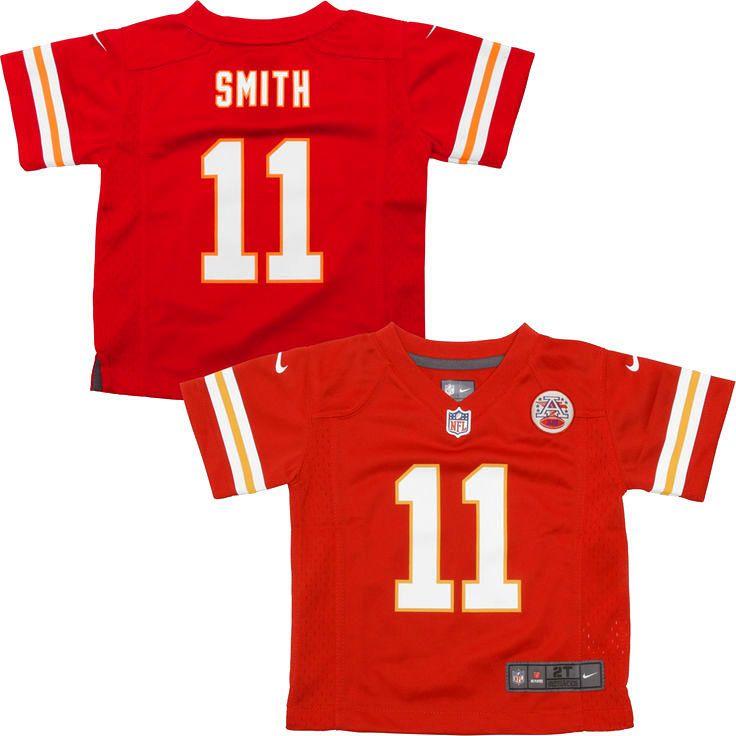 Alex Smith Kansas City Chiefs Nike Toddler Game Jersey – Red - $49.99