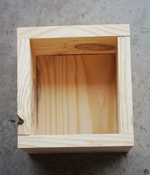 how_to_make_a_wood_box: They used gorilla glue and a few nails.