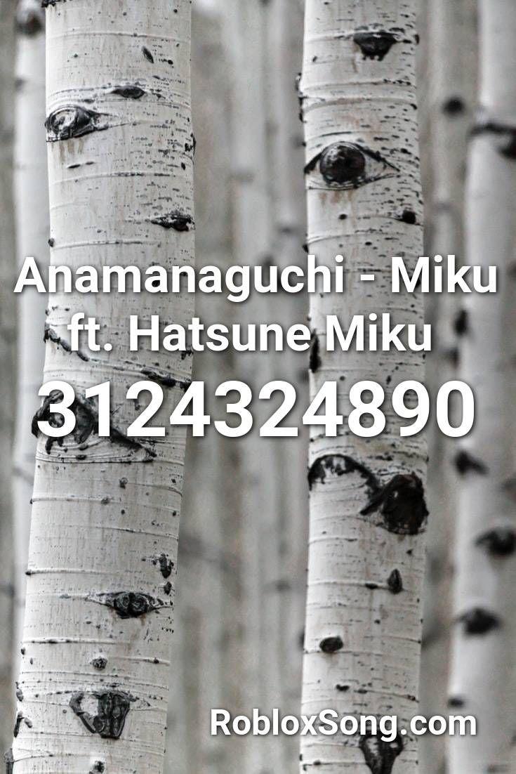 Anamanaguchi Miku Ft Hatsune Miku Roblox Id Roblox Music