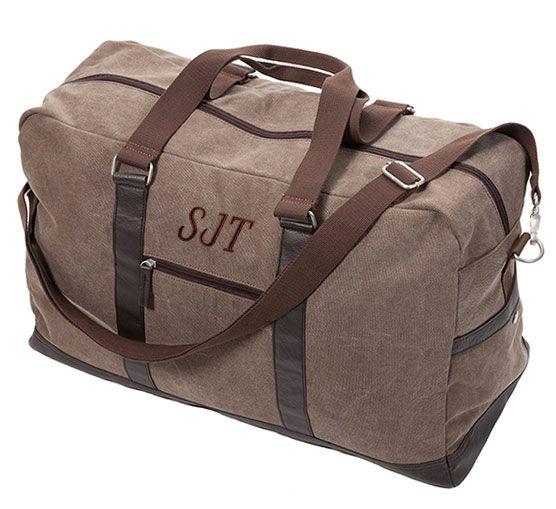 Men's Travel Bag | Monogrammed | Personalized
