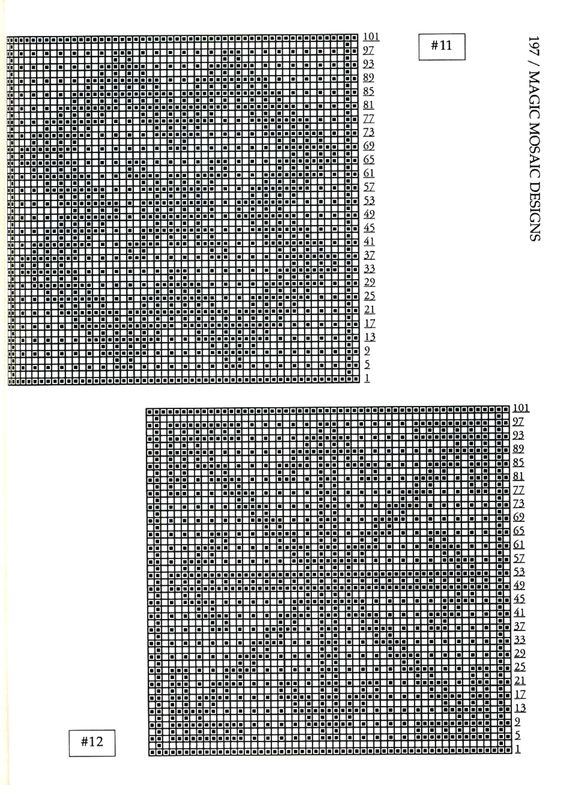 Mosaic Knitting Barbara G. Walker (Lenivii gakkard) Mosaic Knitting Barbara G. Walker (Lenivii gakkard) #202