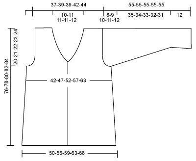 DROPS 91-14 - DROPS Long cardigan in Silke-Tweed. - Free pattern by DROPS Design