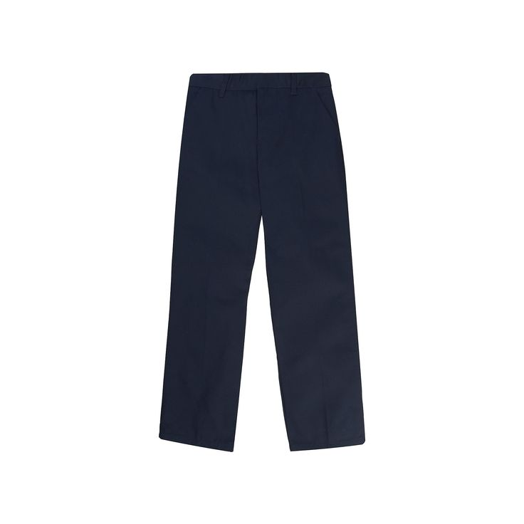 Boys 4-20 French Toast School Uniform Relaxed-Fit Pants, Boy's, Size: 20, Blue (Navy)
