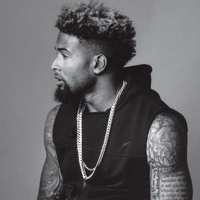 Odell Beckham Jr. Talks About His Epic Hair and Many, Many Tattoos | GQ
