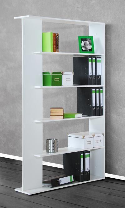 Regal weiß Raumteiler Trennwand Wandregal Standregal freistehend weiss Stand in Möbel & Wohnen, Möbel, Regale & Aufbewahrung | eBay