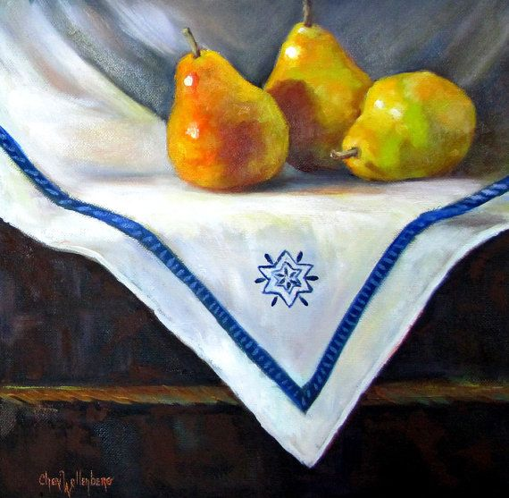 Kitchen Canvas Art Painting Still Life Three By ChatterBoxArt