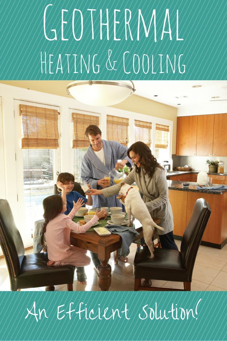 Geothermal Heating And Cooling Is A Great Way To Use The Naturally