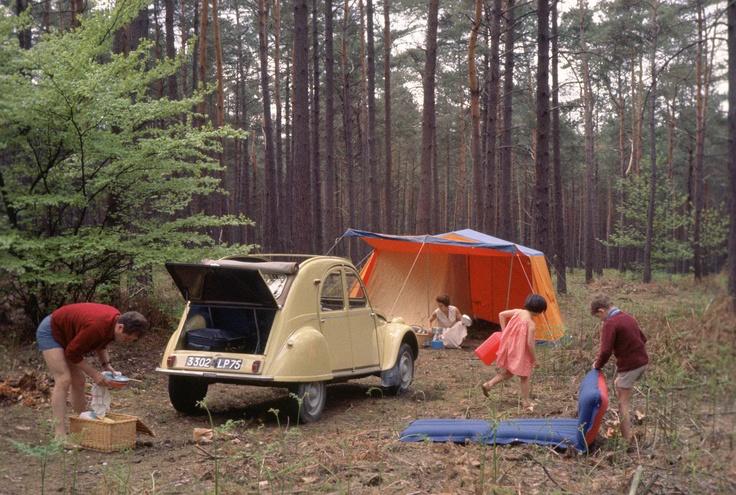 Camping en forêt #2CV !