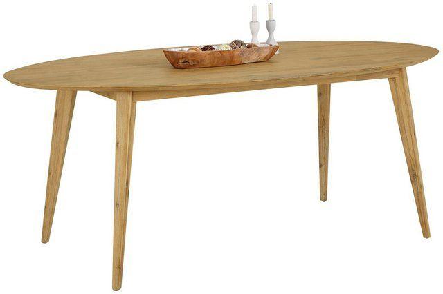 Esstisch Olivia Aus Massivem Akazienholz In Zwei Unterschiedlichen Grossen Und Drei Farben Esstisch Tisch Und Kuche Tisch