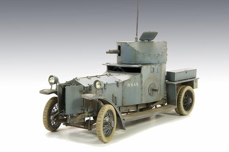 Rolls Royce Armoured Car Pattern 1914