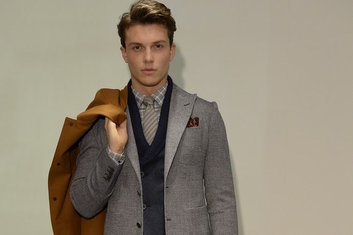 Hardy Amies SS 14/15 London Collections