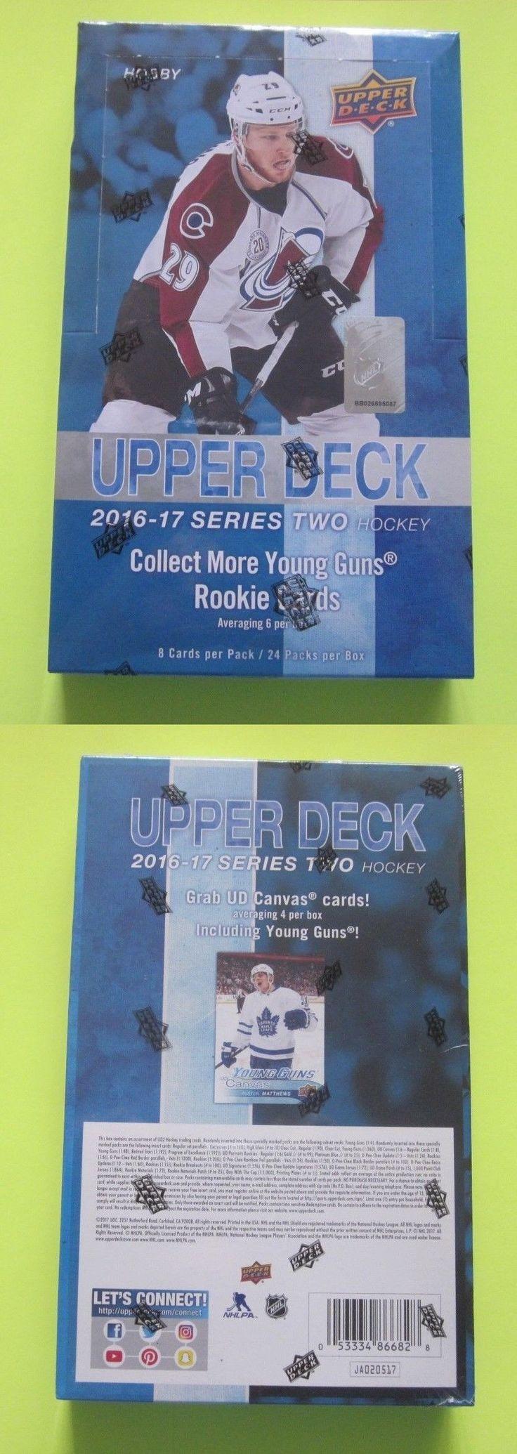 Ice Hockey Cards 216: 2016 17 Upper Deck Series 2 Hockey Hobby Box -> BUY IT NOW ONLY: $87.5 on eBay!