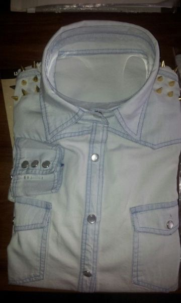 Our product woman denim shirt
