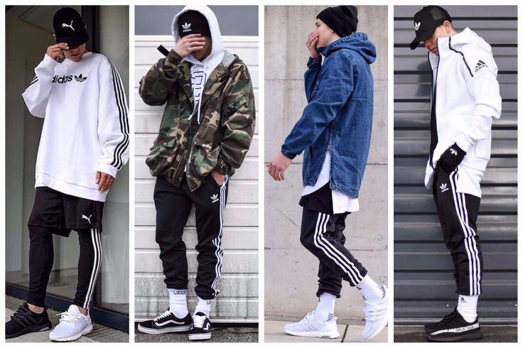 In adidas stripes we trust! Συνδύασε τις αγαπημένες σου τρεις ρίγες σε άσπρο-μαύρο: 💣 Με καπέλο τύπου trucker 💣 Με denim jacket ή πουκάμισο 💣 Με παραλλαγή