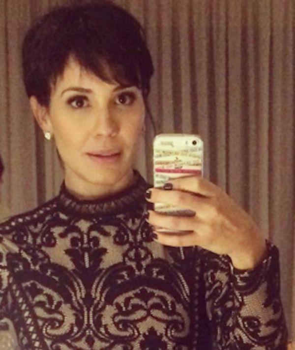 Juliana Knust exibe o seu novo corte de cabelo estilo joãzinho