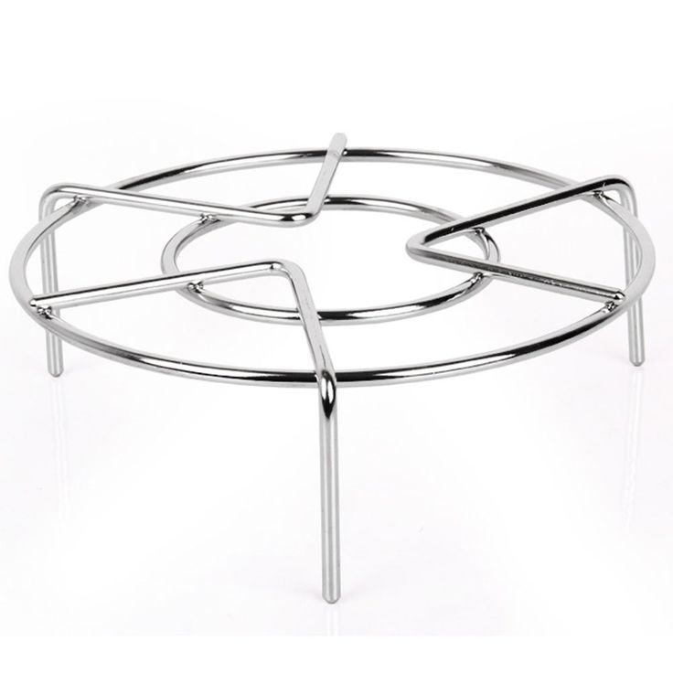 "Heavy Duty Stainless Steel Steaming Rack Stand Cooking Ware Steamer Rack,(5.9"" Diameter x 2.6"" Height)"