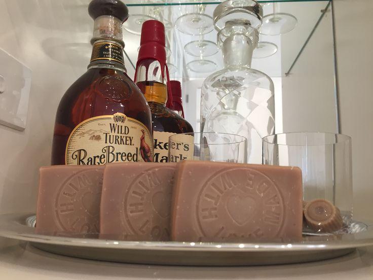 Spiced Mahogany natural soap.