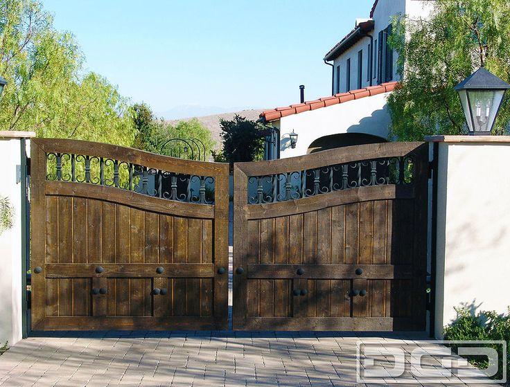 View Large Photo of Architectural Gates 24 | Custom Designer Driveway Gate