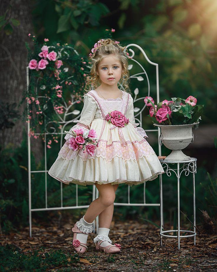 La Amapola La Amapola Dress Vestidos Bonitos Para Ni 241 A