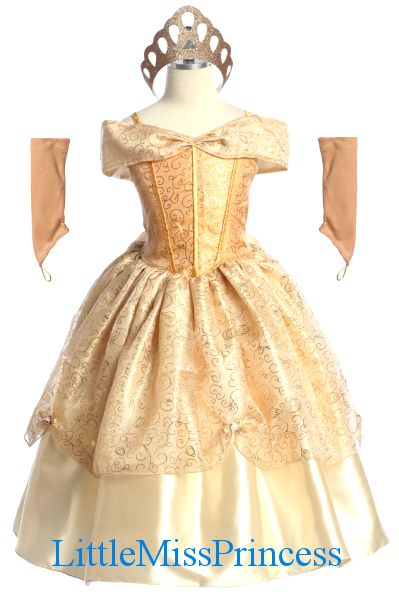 princess+dresses+for+toddlers | Gold Duchess Princess Dress