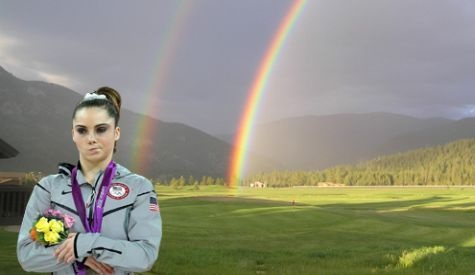 Double Rainbow...not impressed