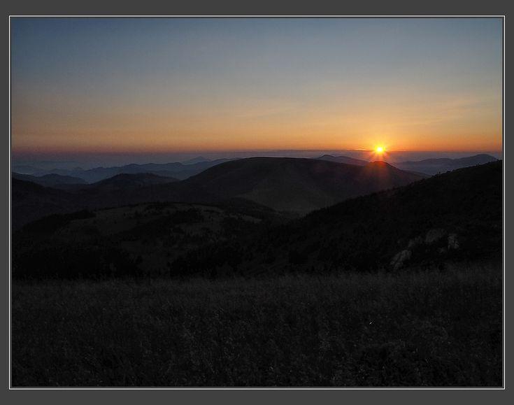 východ slunce nad Ploskou