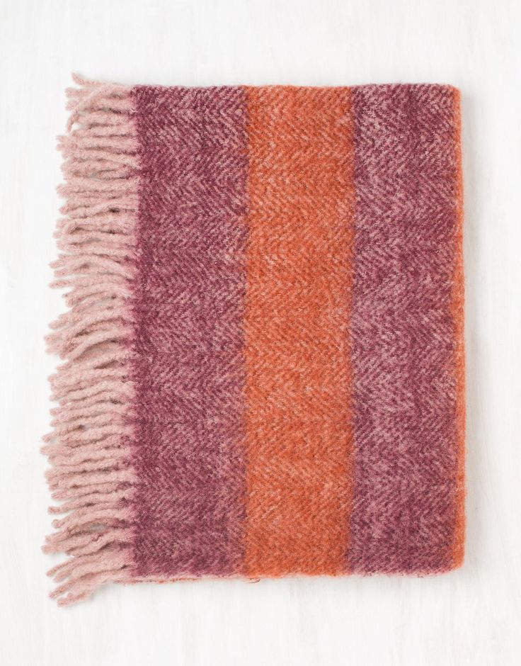 COSY pledd orange | Throws | Sengetepper & Pledd | Home | INDISKA Shop Online