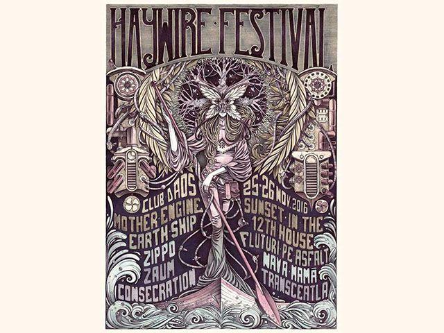 La prima edite, Haywire Festival aduce trupe din tara si din strainatate