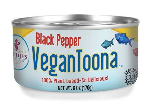 Sophie S Kitchen Black Pepper Vegan Toona