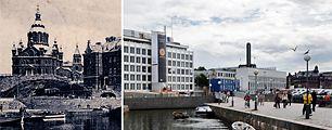 Helsingin muutos näkyy postikorteissa, katso ennen ja nyt -kuvat. Uusi kuva: Christian Westerback / HS