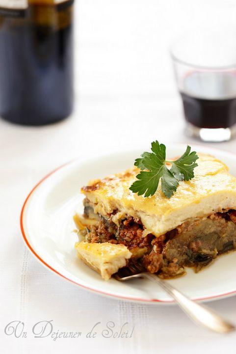 17 meilleures id es propos de recette moussaka grecque - Cuisine grecque traditionnelle ...
