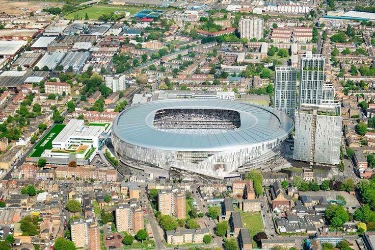 Spurs new stadium. Tottenham Hotspur 2018. #COYS