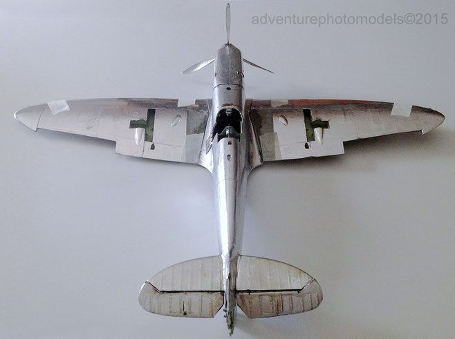 Full MWP   (Metal Work Panels )  Studio  - Supermarine Spitfire Mk Vb  Trumpeter kit  1:24 scale