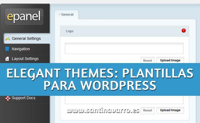 Accede y conoce Elegant themes que nos provee de plantillas para Wordpress baratas, buenas y bonitas. Te cuento mi experiencia con ellos. http://www.santinavarro.es/elegant-themes-plantillas-wordpress-baratas/