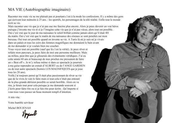 Michel Boujenah en tournée aux Etats-Unis - French District