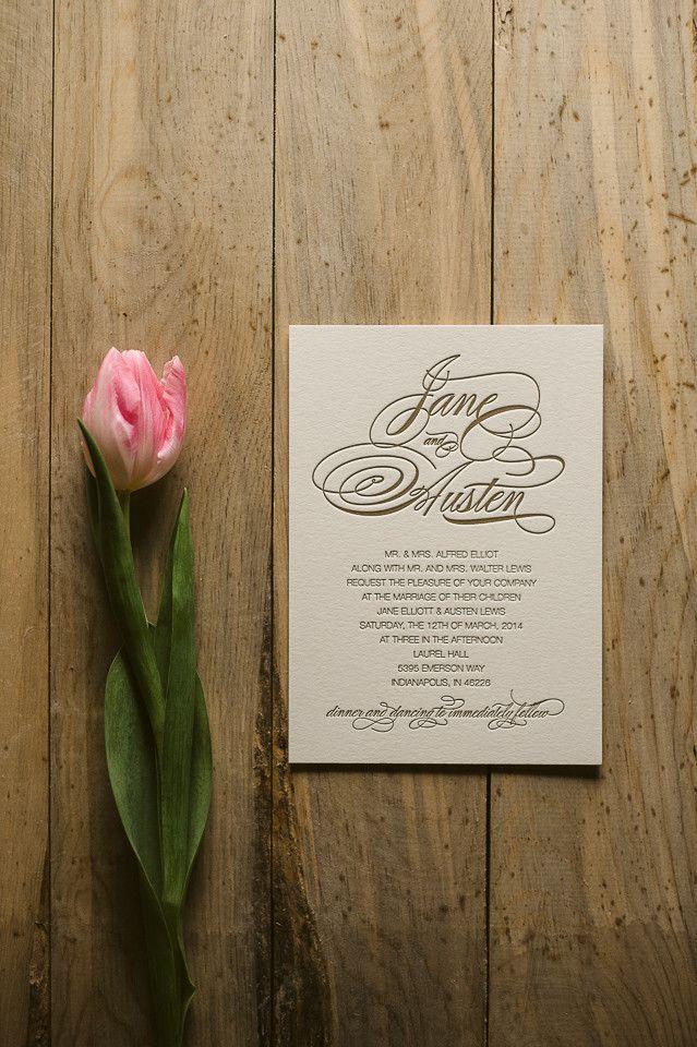 invitation letter for us vissample wedding%0A BIANCA Suite Basic Package  calligraphy wedding invitation  letterpress wedding  invitation  gold wedding invitation
