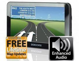 New S6800 Ventura PRO EU with 7' Display,Bluetooth,TMC & Built-in Loud Speaker