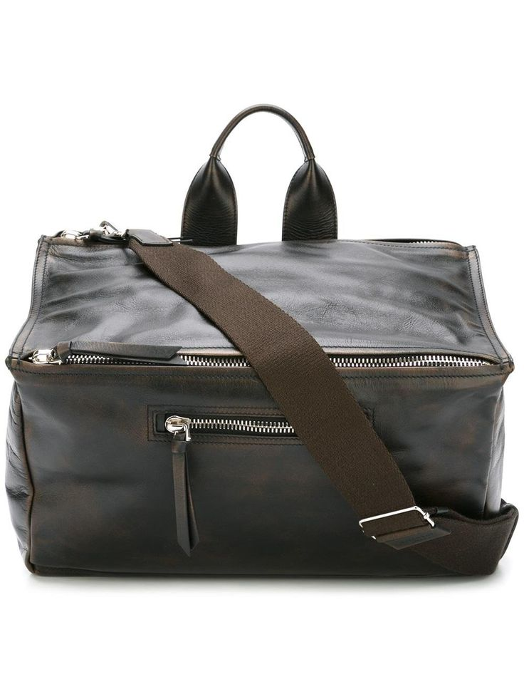 Givenchy Men's Bj05024493001 Black Leather Briefcase