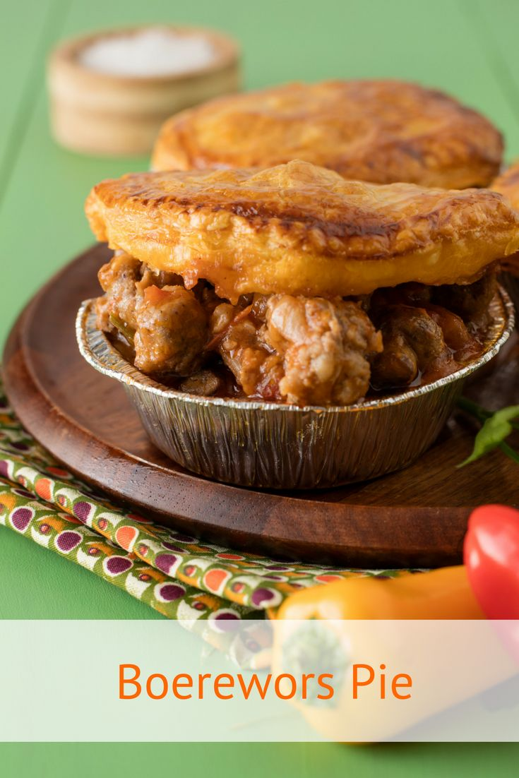 Boerewors Pie Recipe.We love boerewors and we love pie, so we've put them together to create a filling South African meal your family will love. We've also used ready-made puff pastry to keep the recipe easy.