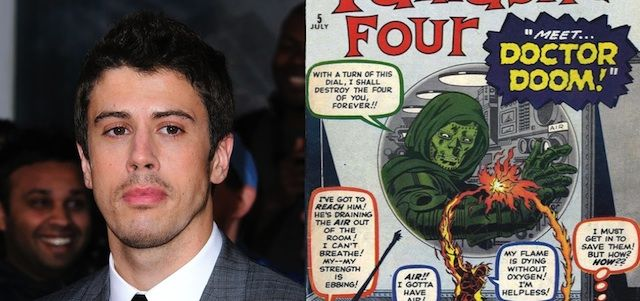 Toby Kebbell reveals a very different origin for his upcoming big screen version of The Fantastic Four's Doctor Doom.