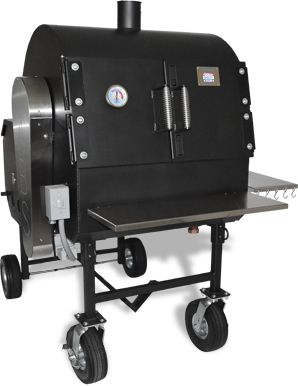 American BBQ Systems Pit Boss Smoker with internal rotisserie